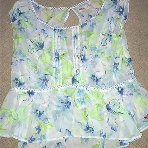 hollister lightweight blouse